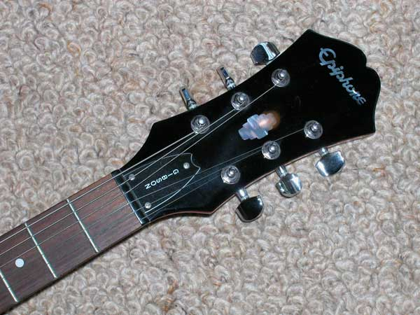epiphone dot how to change strings