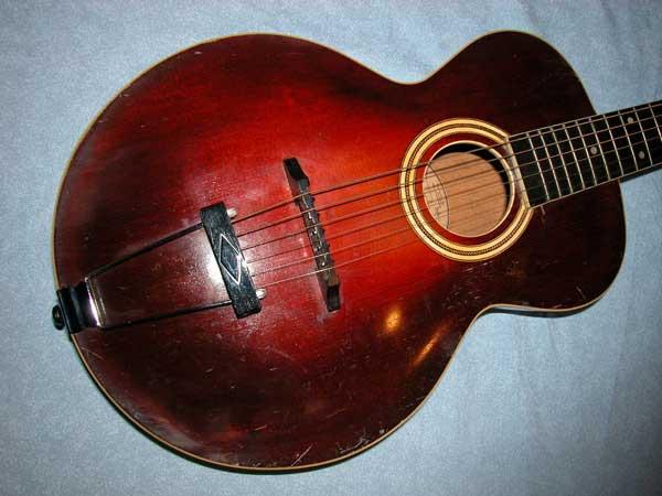 Artichoke Guitars - Guitar Guitars Used Vintage Electric